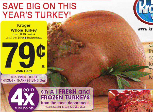 Kroger Thanksgiving Dinners 2019  Kroger Weekly Ad with Coupon Matchups Week 10 7