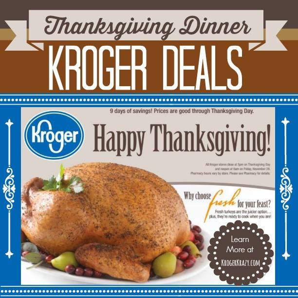 Kroger Thanksgiving Dinners 2019  Roundup of Thanksgiving Dinner Essentials at Kroger