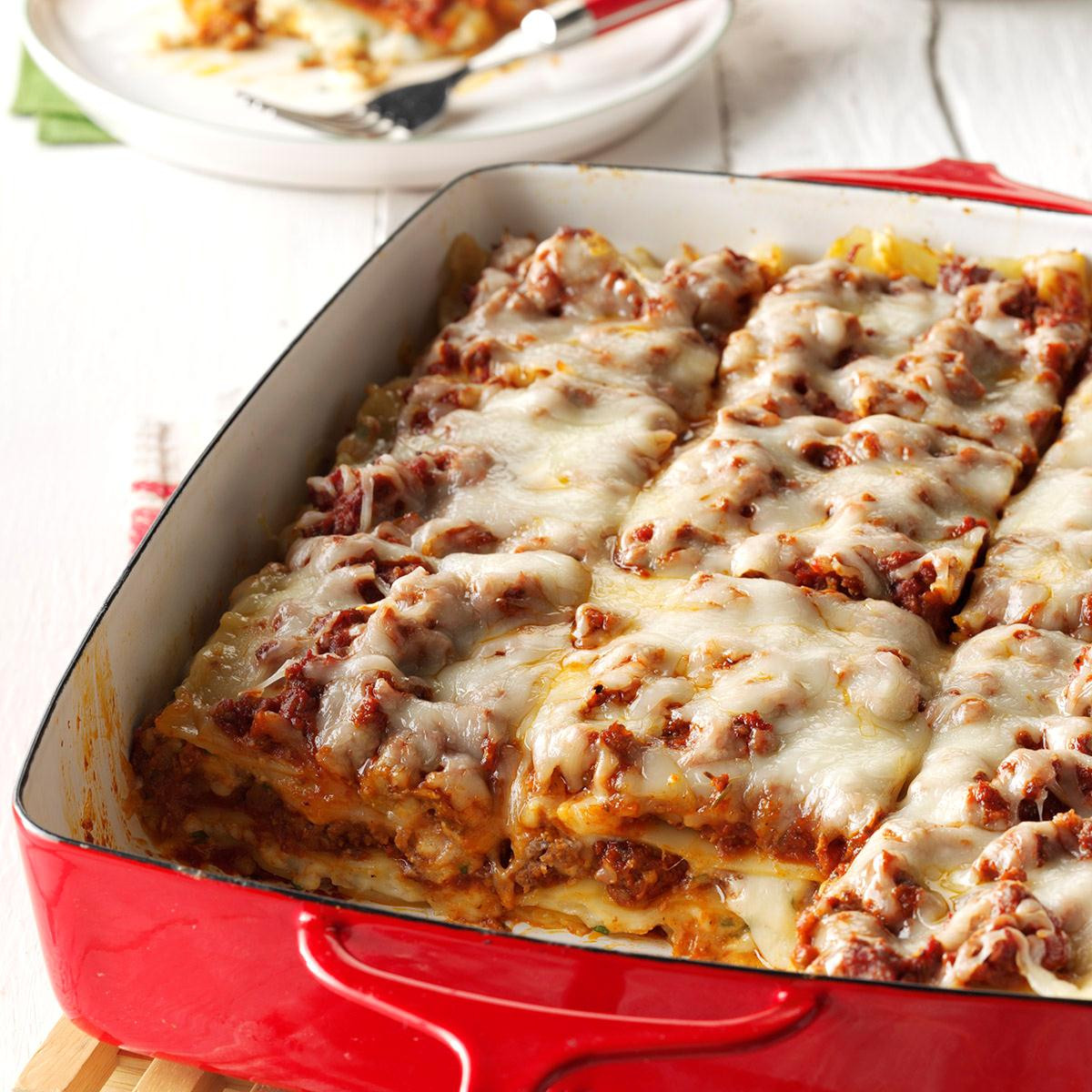 Lasagna For Christmas Dinner  Traditional Lasagna Recipe