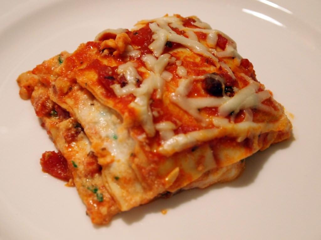 Lasagna For Christmas Dinner  Lasagna for Christmas Eve Dinner fortably Domestic