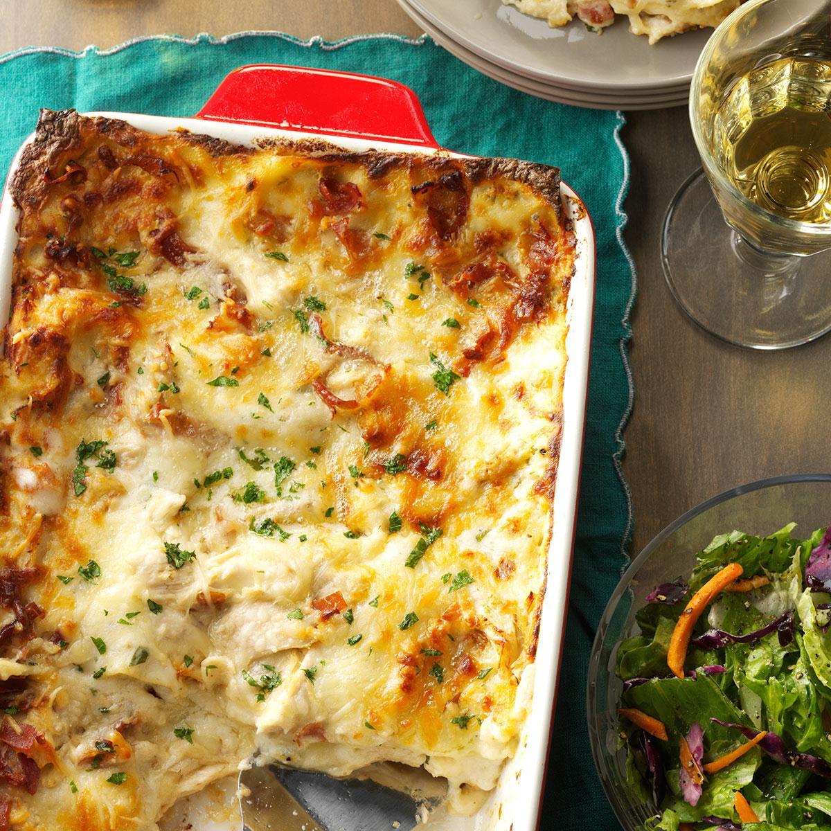Lasagna For Christmas Dinner  Chicken Alfredo Lasagna Recipe
