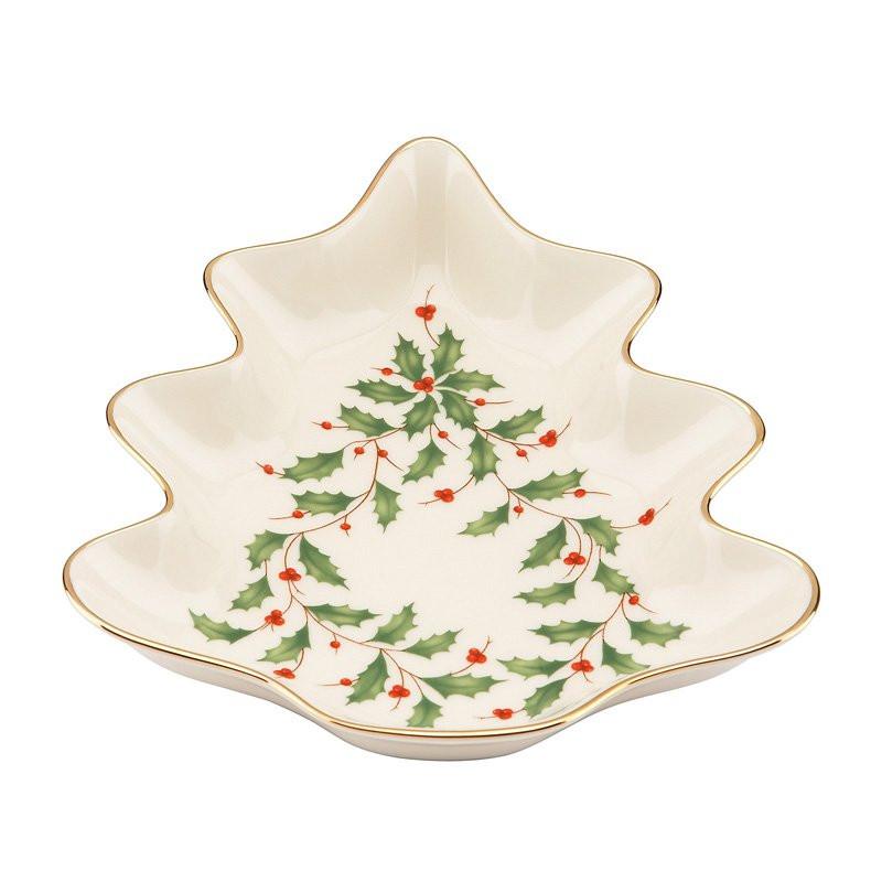 Lenox Christmas Candy Dish  master LNOX2614