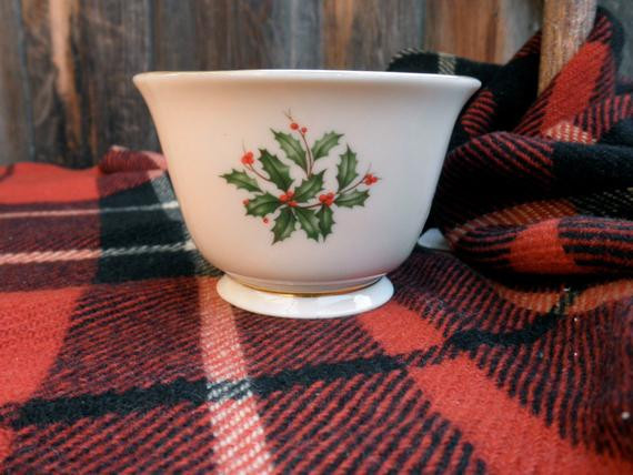 Lenox Christmas Candy Dish  vintage Lenox Christmas candy dish by JunqueDuJour on Etsy