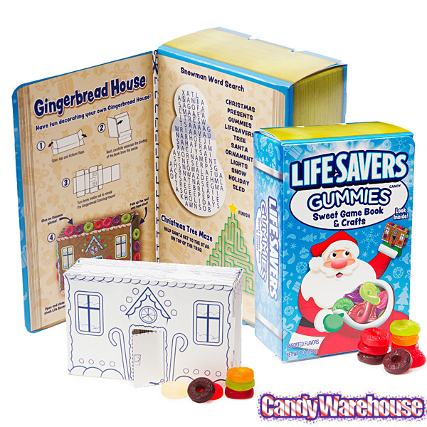 Lifesavers Candy Christmas Book  LifeSavers Gummies Candy Christmas Storybook