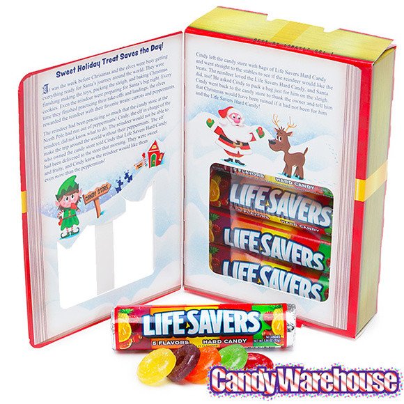 Lifesavers Candy Christmas Book  LifeSavers Hard Candy Rolls Christmas Storybook