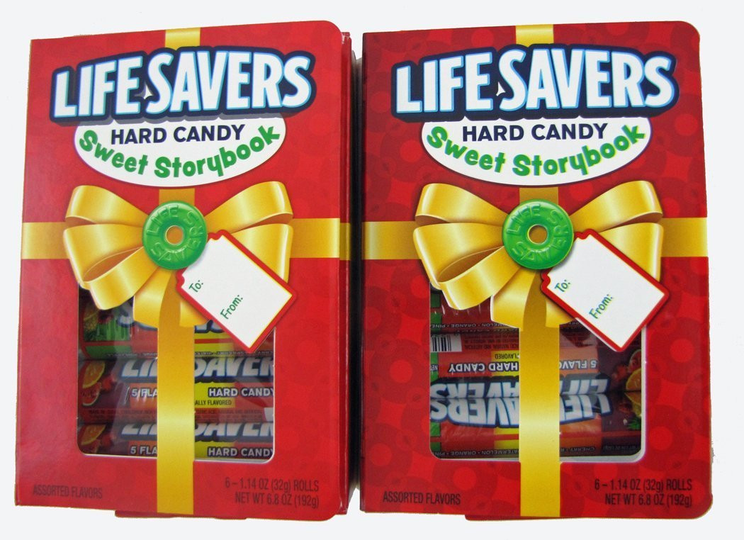 Lifesavers Candy Christmas Book  Amazon Life Savers Hard Candy Sweet Storybook