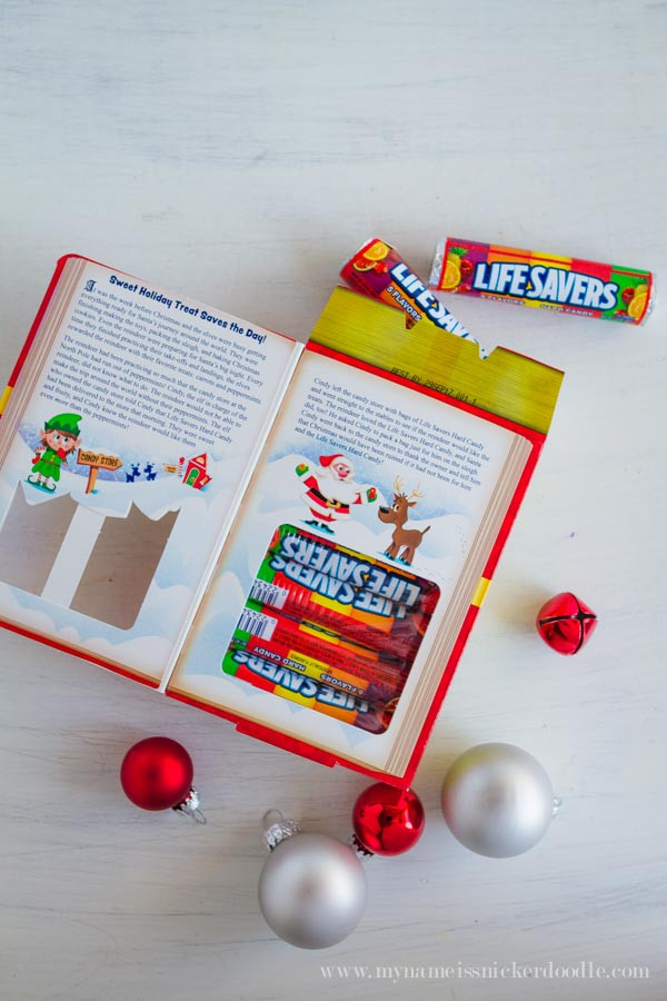 Lifesavers Candy Christmas Book  Christmas Candy Story Book Free Printables My Name Is