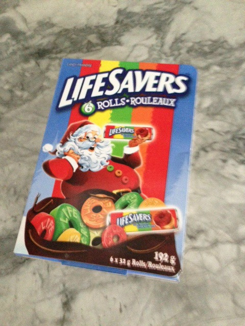 Lifesavers Candy Christmas Books  I don t like it when things change I m looking at you