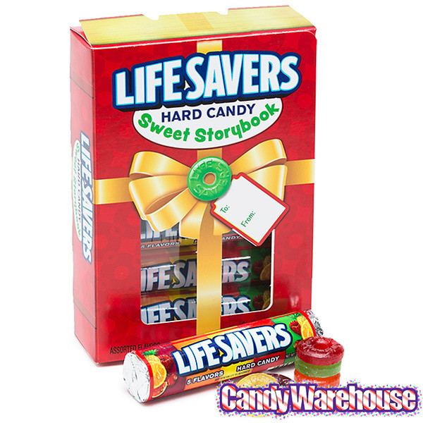 Lifesavers Candy Christmas Books  LifeSavers Hard Candy Rolls Christmas Storybook