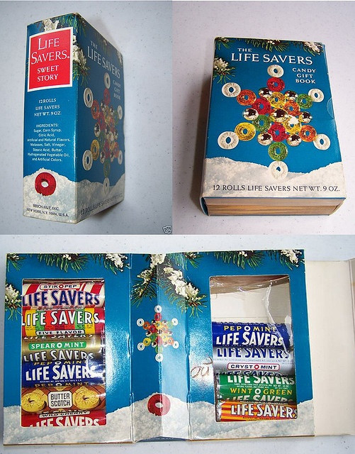 Lifesavers Candy Christmas Books  296 best Lifesavers images on Pinterest