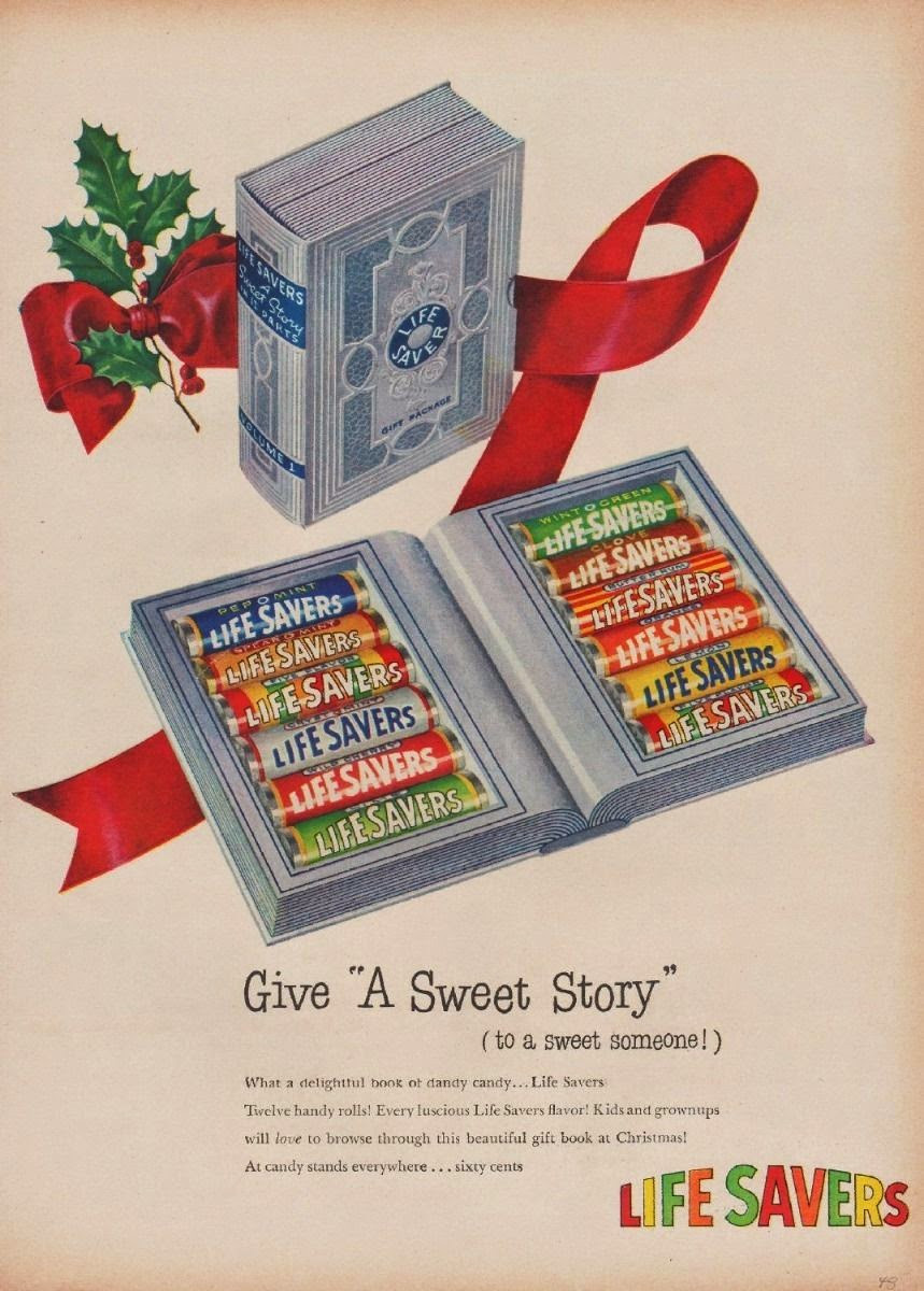 Lifesavers Candy Christmas Books  About Blooks Merry Christmas Blook Style