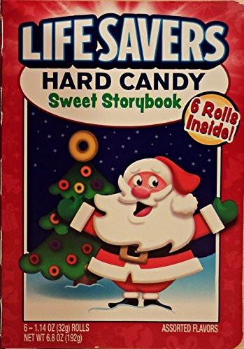 Lifesavers Candy Christmas Books  Lifesavers Christmas Sweet Storybook Hard Candy