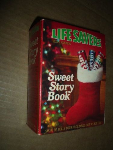 Lifesavers Candy Christmas Books  Vintage Lifesaver Sweet Story Book UNOPENED Christmas