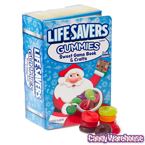 Lifesavers Candy Christmas Books  LifeSavers Gummies Candy Christmas Storybook