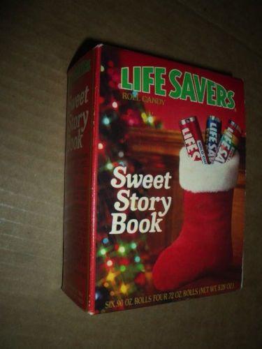 Lifesavers Christmas Candy Book  Vintage Lifesaver Sweet Story Book UNOPENED Christmas