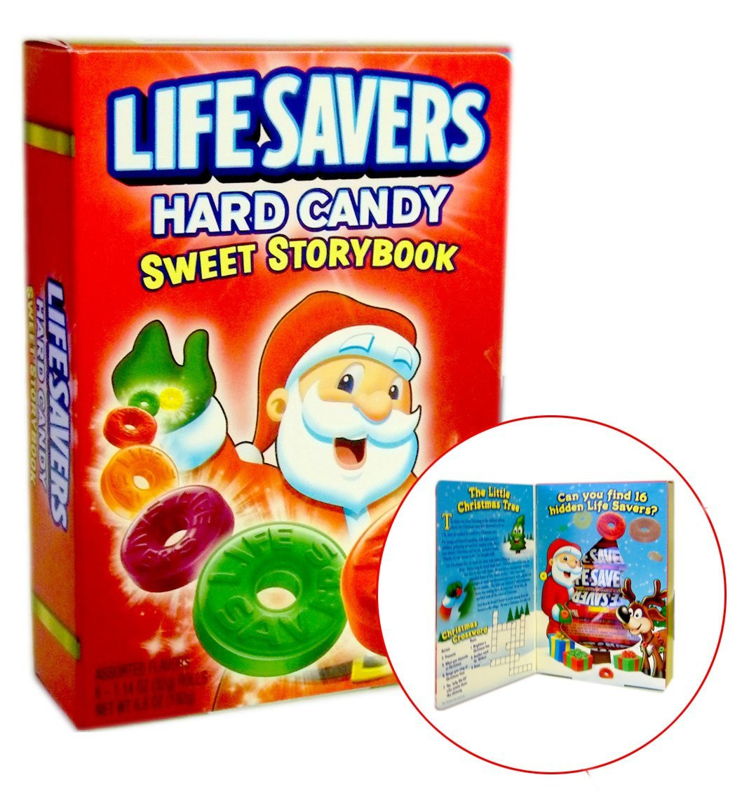 Lifesavers Christmas Candy Book  15 Great Stocking Stuffer Ideas The Crafting Chicks