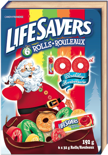 Lifesavers Christmas Candy Book  Life Savers Holiday Funbook Giveaway Vancouver Blog Miss604