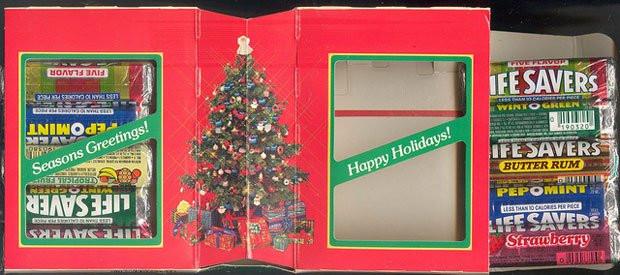 Lifesavers Christmas Candy Book  A true Christmas Lifesaver – The Life Savers Sweet