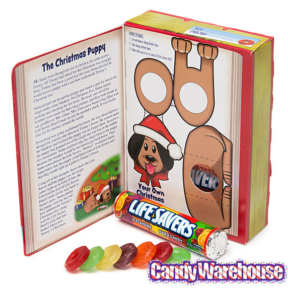 Lifesavers Christmas Candy Book  Life Savers Hard Candy Rolls Christmas Storybook