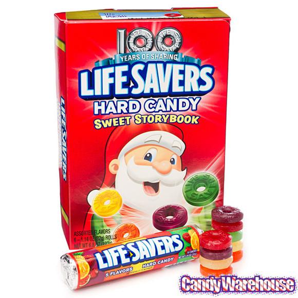 Lifesavers Christmas Candy Book  Life Savers Hard Candy Christmas Storybook