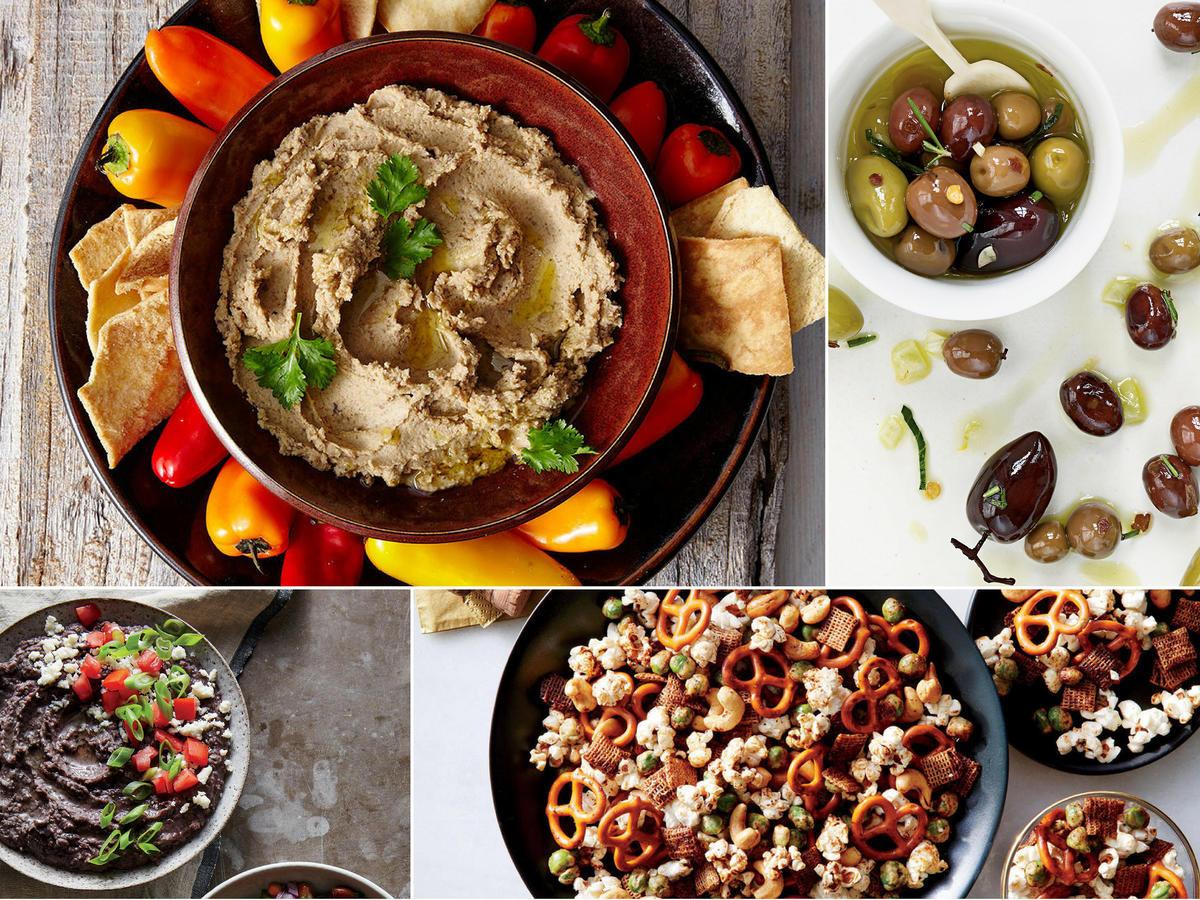 Light Thanksgiving Appetizers  Vegan Thanksgiving Menu Recipes and Ideas Cooking Light