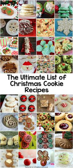 List Of Christmas Cookies  1000 ideas about Cookie Gifts on Pinterest
