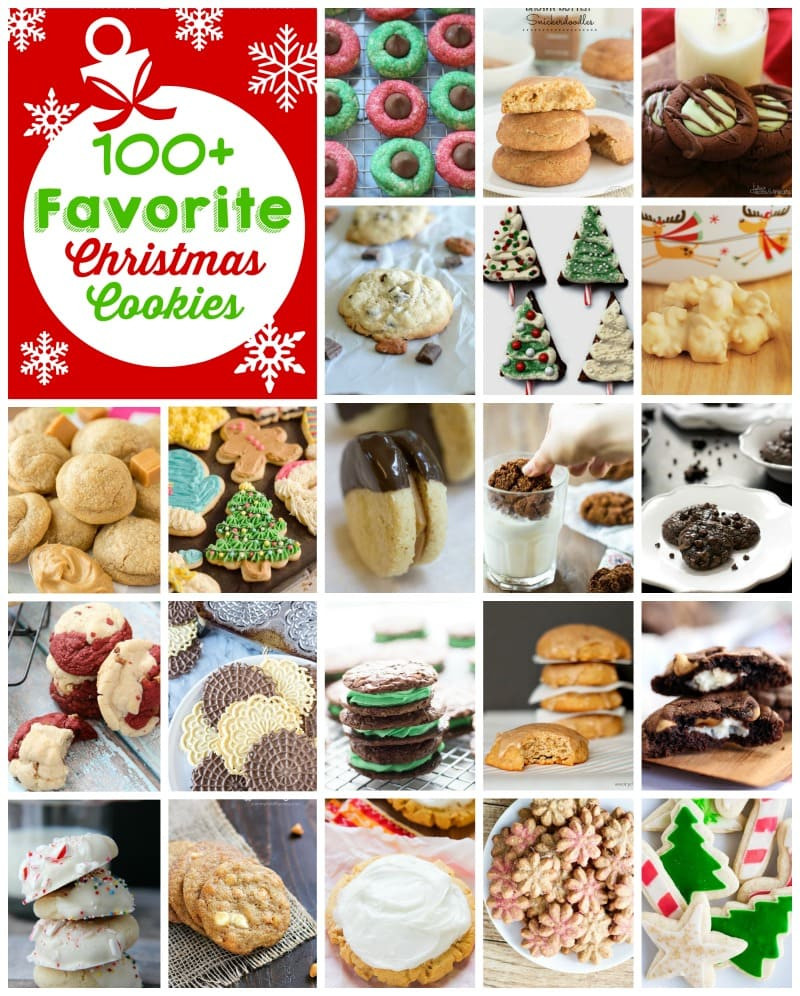 List Of Christmas Cookies  100 Christmas Cookies Diary of A Recipe Collector