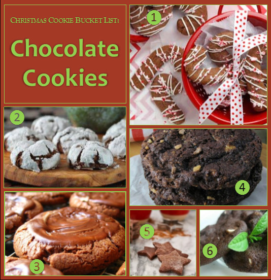 List Of Christmas Cookies  Christmas Cookie Bucket List