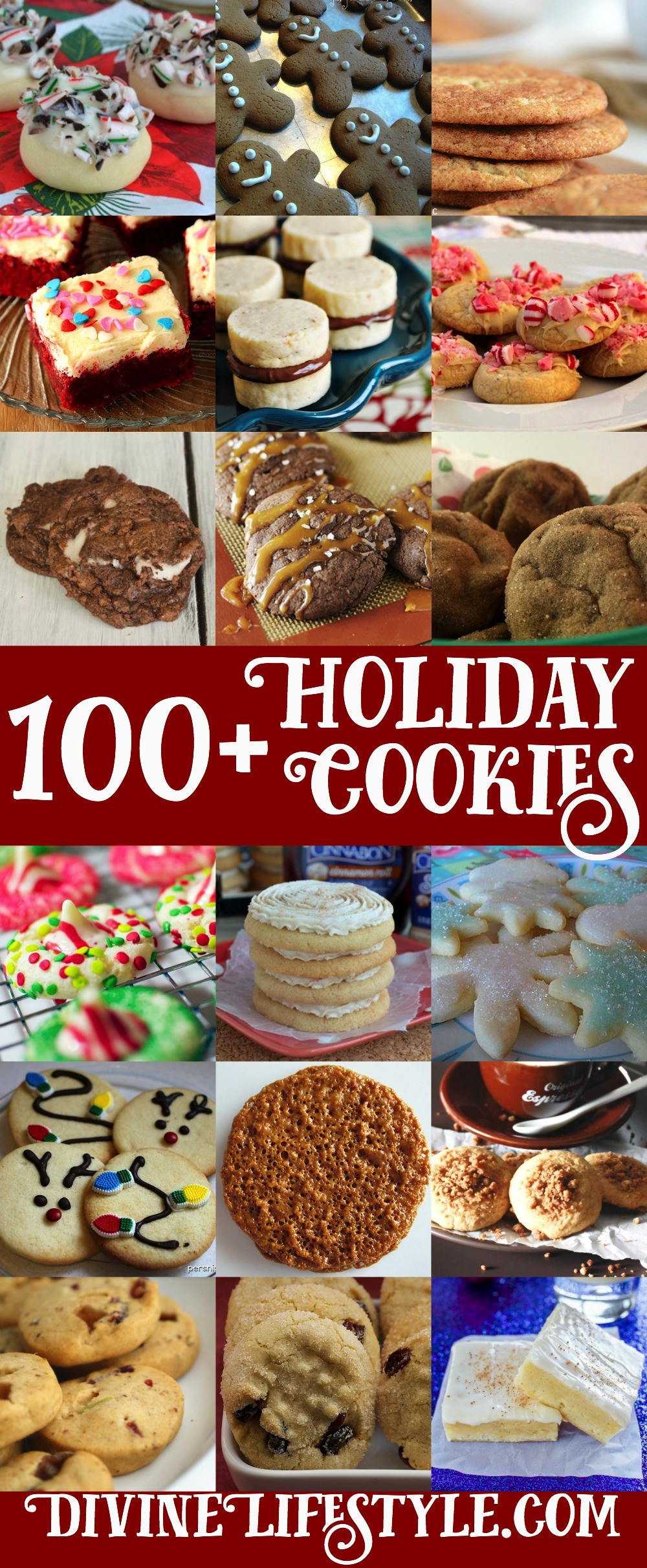 List Of Christmas Cookies  Ultimate List of 100 Holiday Cookies Recipes