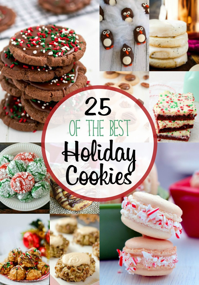 List Of Christmas Cookies  25 Best Holiday Cookies Around My Family Table