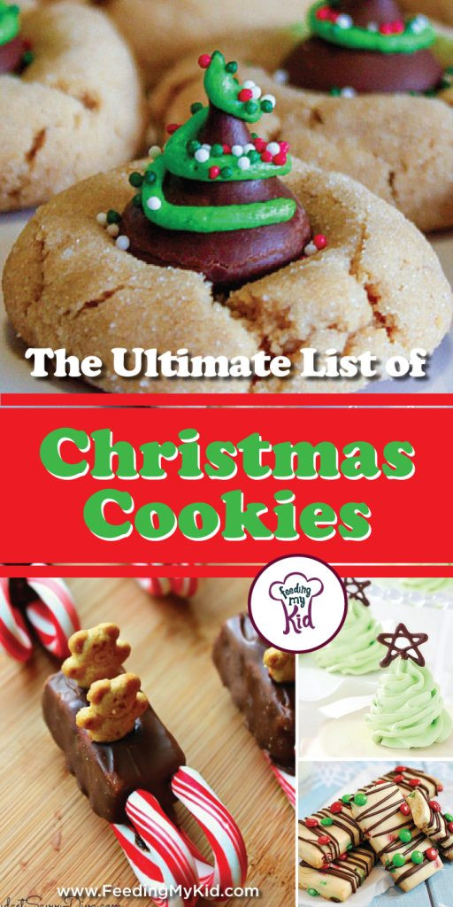 List Of Christmas Cookies  The Ultimate List of Christmas Cookies Recipes