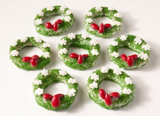 Little Debbie Christmas Wreath Cookies  24 best Little Debbie Christmas Treats images on Pinterest