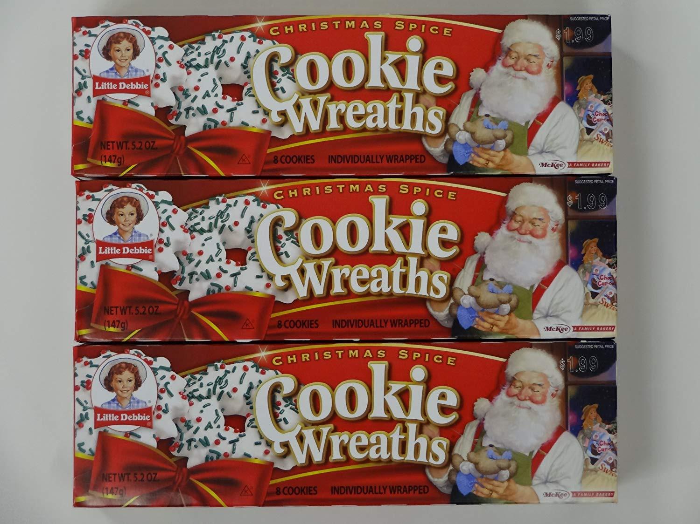 Little Debbie Christmas Wreath Cookies  little debbie wreath cookies