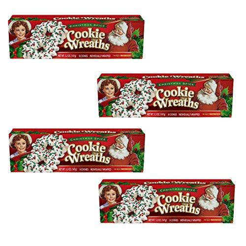 Little Debbie Christmas Wreath Cookies  Little Debbie Christmas Wreath cookies Pack of 4