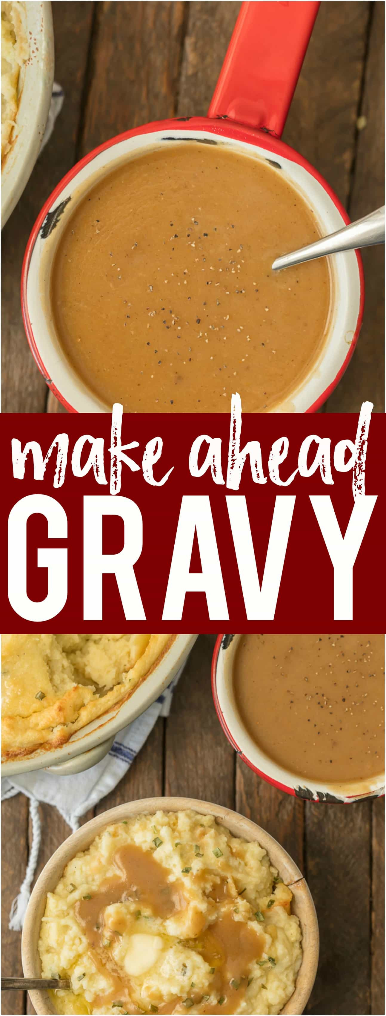 Make Ahead Gravy For Thanksgiving  Make Ahead Gravy The Cookie Rookie