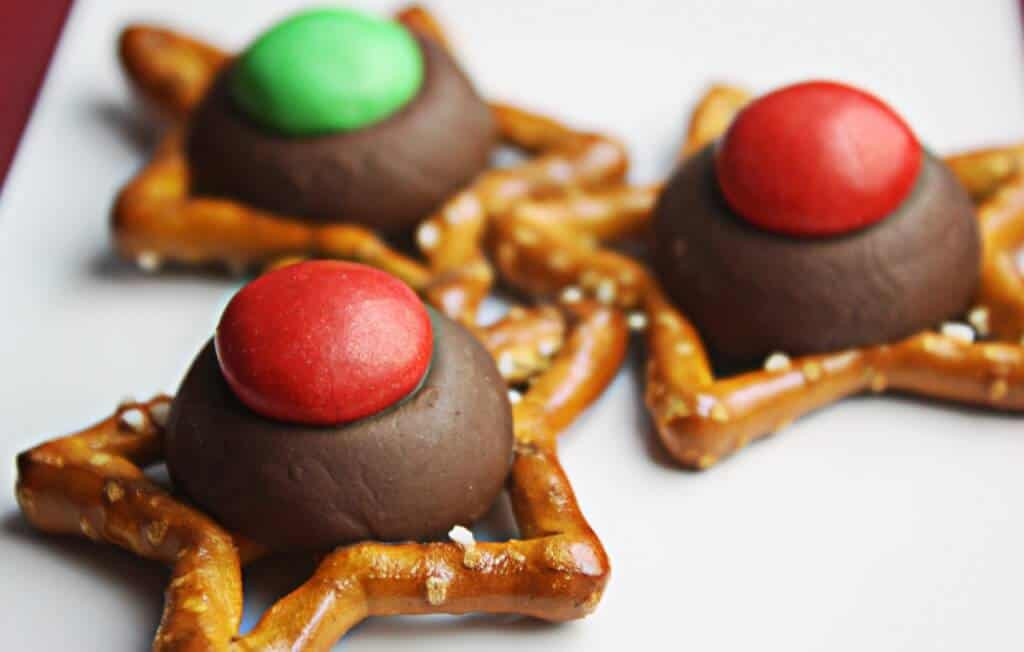 M&M Christmas Cookies Recipe  Easy Christmas Cookies with Holiday Pretezels • The Wicked