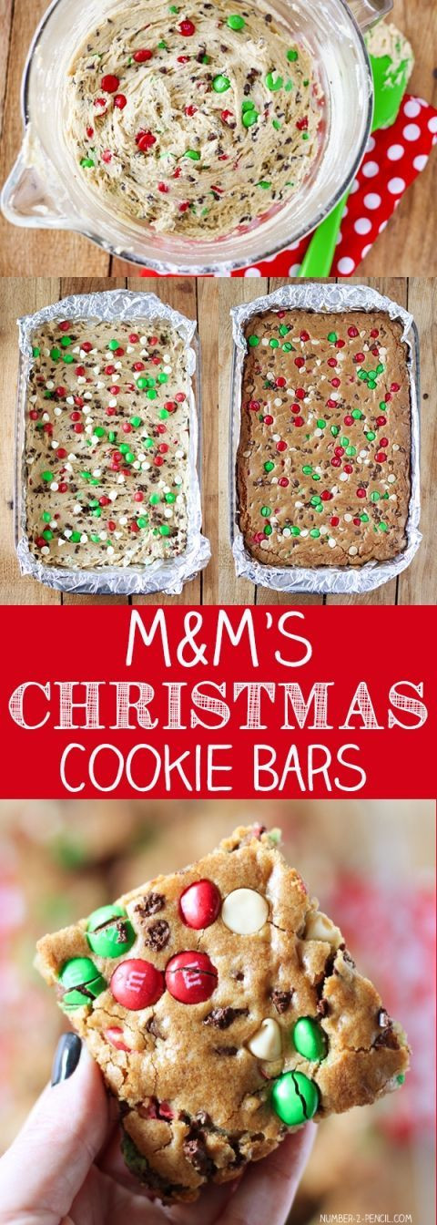 M&M Christmas Cookies Recipe  1000 ideas about Christmas Boxes on Pinterest