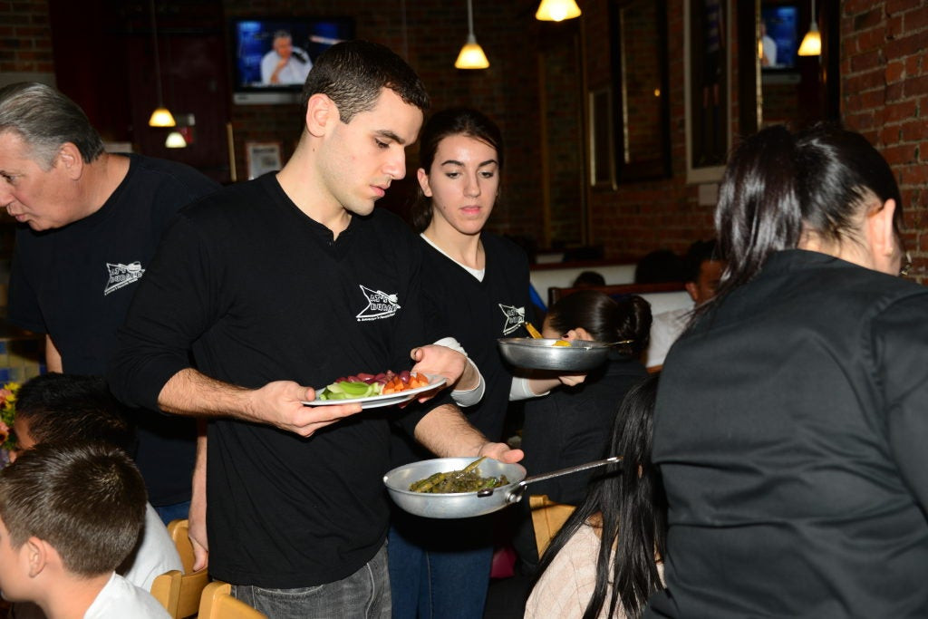 Marianos Thanksgiving Dinner  Mariano Teams Up with AJ s for Thanksgiving Dinner Tuesday