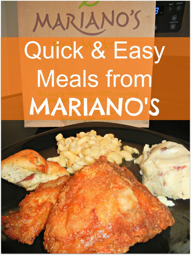 Marianos Thanksgiving Dinner  My Quick Easy and Delicious Meal from Mariano's Fresh