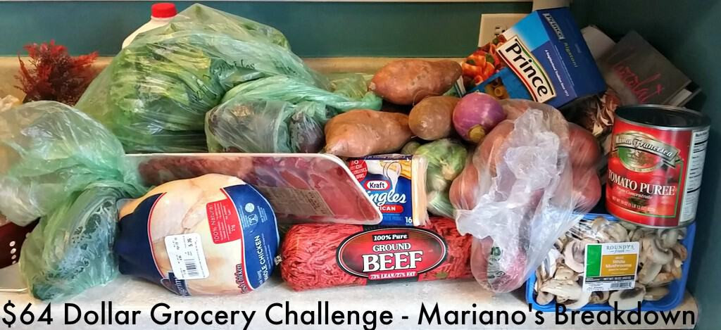 Marianos Thanksgiving Dinner  64 Dollar Grocery Bud Series Mariano s 4 Hats and
