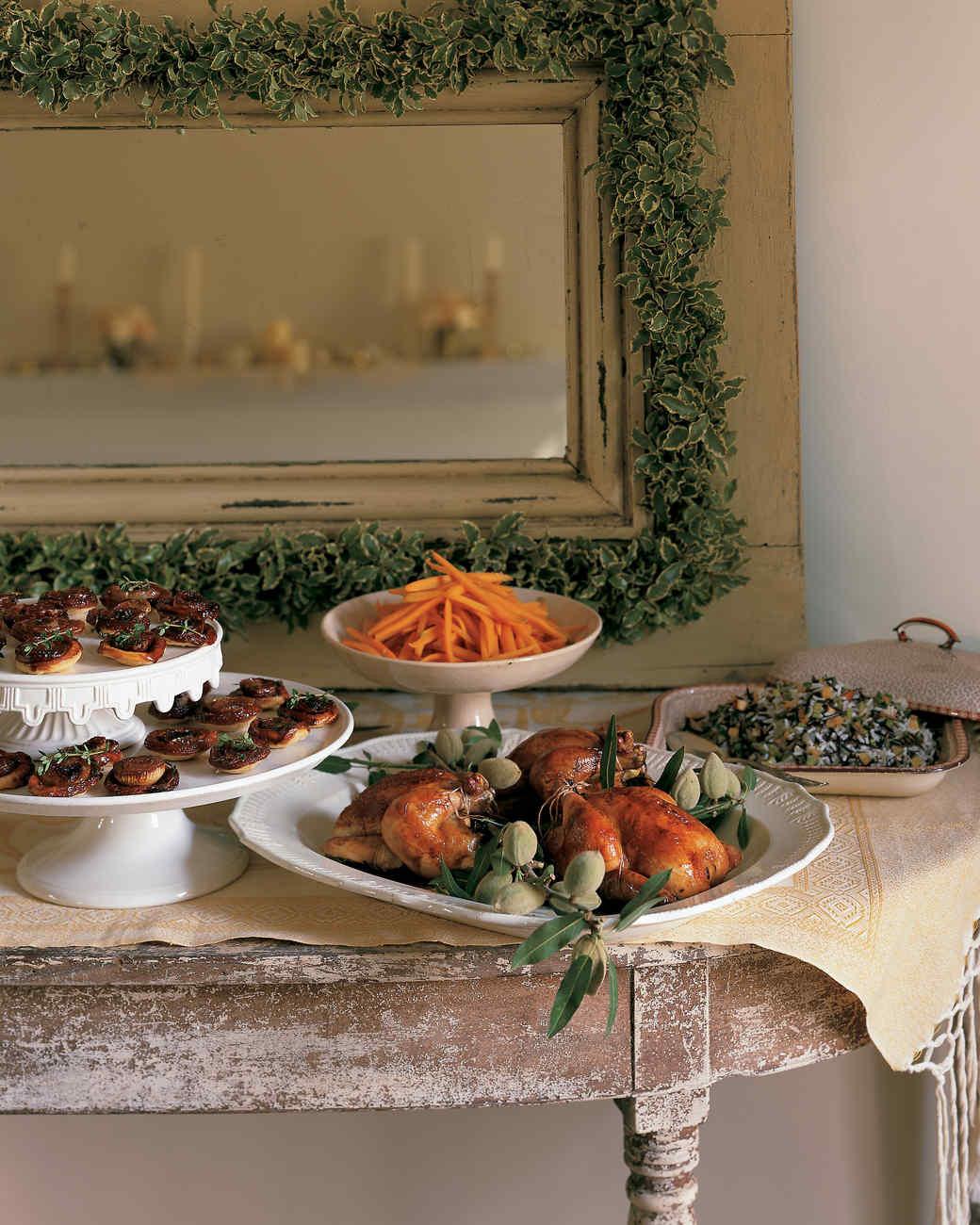 Martha Stewart Christmas Appetizers  Elegant Appetizer Recipes
