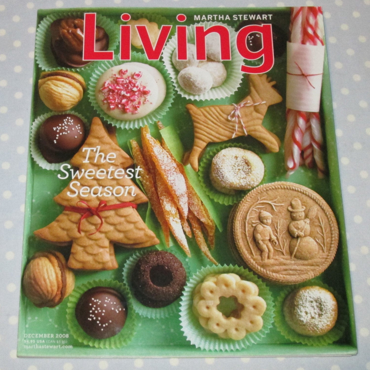 Martha Stewart Christmas Cookies  Back Issue Martha Stewart Christmas Ideas Cookie by PeaPickins