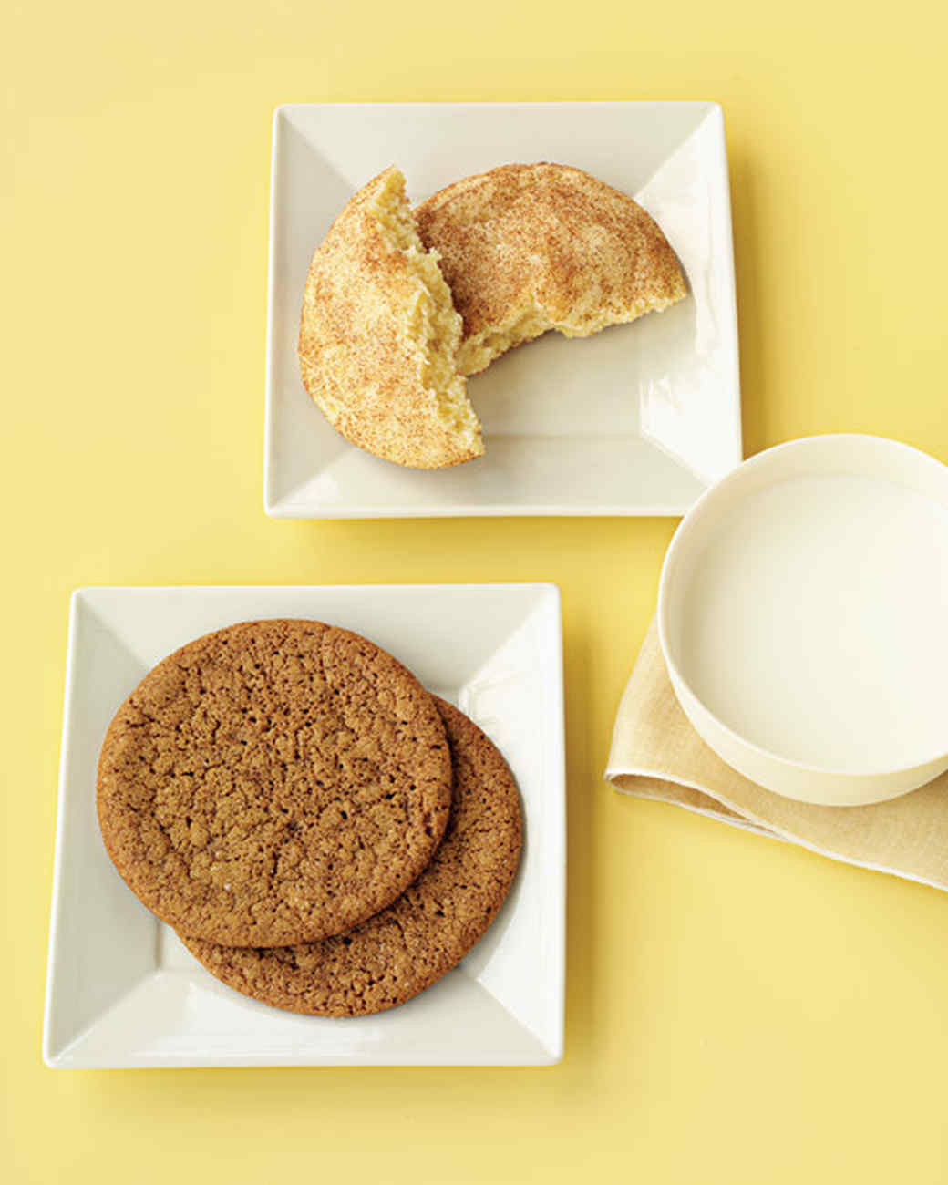 Martha Stewart Christmas Cookies  Snickerdoodles
