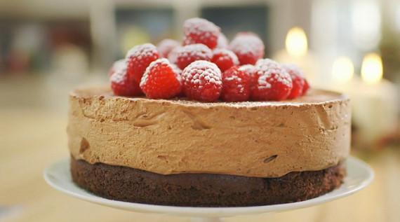 Mary Berry Christmas Cakes  Mary Berry celebration chocolate mousse cake recipe on