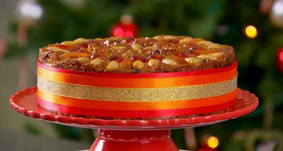 Mary Berry Christmas Cakes  Mary Berry Christmas Genoa cake recipe The Great British