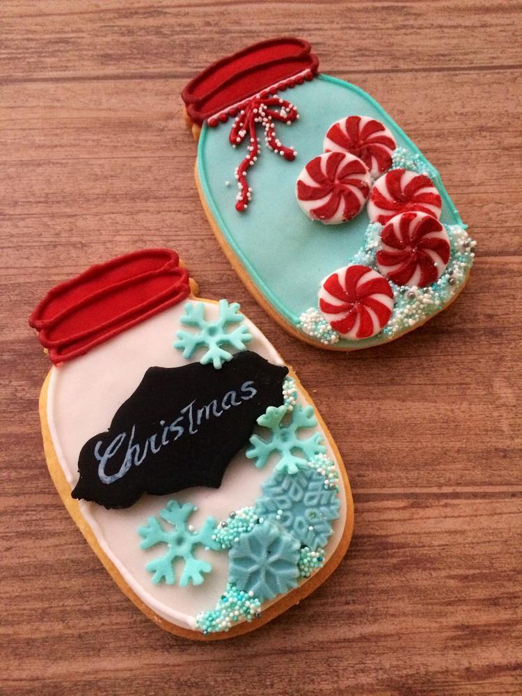 Mason Jar Christmas Cookies  Christmas mason jar cookies