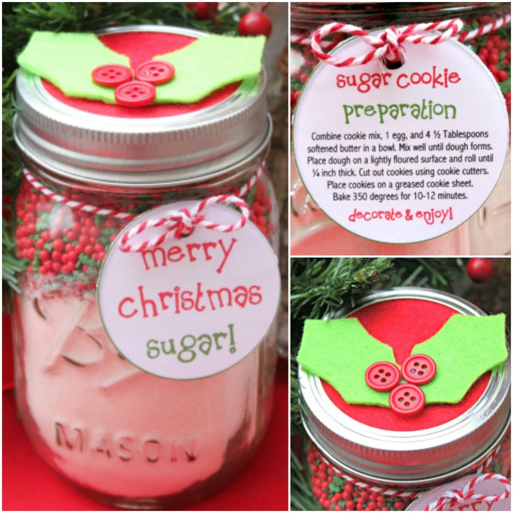 Mason Jar Christmas Cookies  Cookie Mix in a Mason Jar Christmas Gift