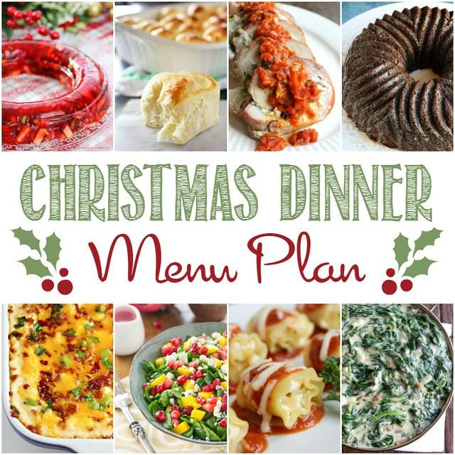 Menus For Christmas Dinners  Christmas Dinner Menu Plan