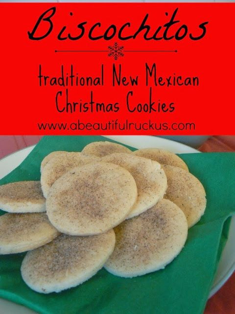Mexican Christmas Cookies  A Beautiful Ruckus Recipe Biscochitos Traditional New