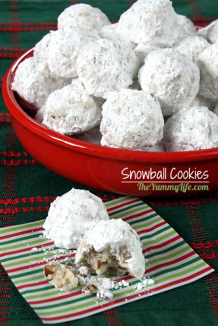 Mexican Christmas Cookies  Traditional Snowball Cookies